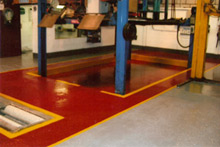 A fully refurbished floor